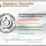 Readers' Favorite Book Award Finalist Non-Fiction Business – Finance