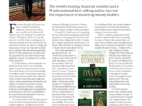Publishers Weekly Interview of Dr. Finance