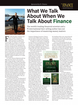 Publishers Weekly Interview 3-1-21 Dr. Finance